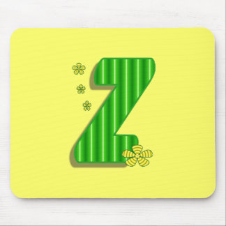 緑Zのモノグラム マウスパッド