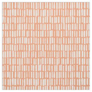 線形、モダンなパターン- Sagamore -モモ ファブリック