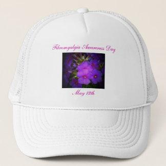 線維筋痛の認識度日の5月12日のTh帽子 キャップ