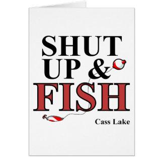 締まっているcass湖 カード