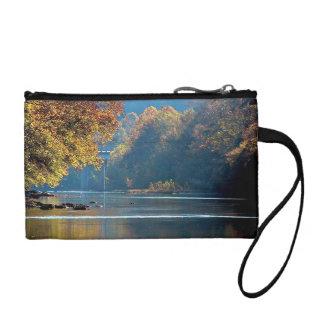 締めつけの川の秋 コインパース
