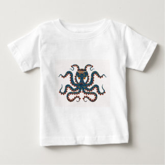 締切のタコ ベビーTシャツ