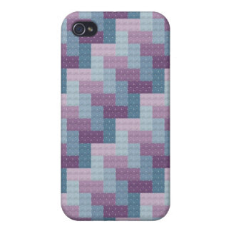 編まれた十字のステッチのiPhoneの箱 iPhone 4 Cover
