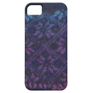 編まれた雪片のiPhoneの箱 iPhone SE/5/5s ケース