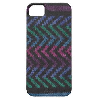 編まれたiPhoneの場合の黒の青い紫色の緑のピンク iPhone SE/5/5s ケース
