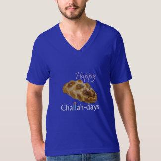 編まれる幸せなChallahdays Tシャツ