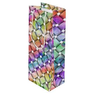 編まれる虹 ワインギフトバッグ
