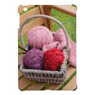 編み物のバスケット iPad MINIケース