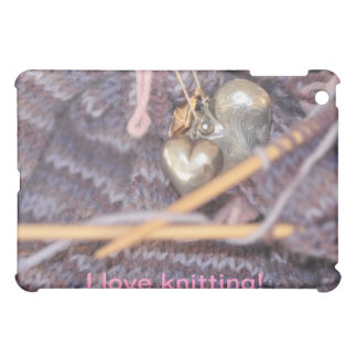 編み物の写真 iPad MINI カバー