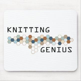 編み物の天才 マウスパッド
