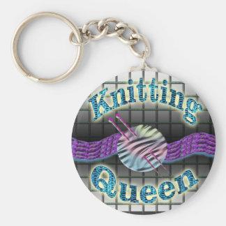 編み物の女王 キーホルダー