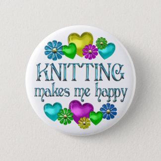 編み物の幸福 缶バッジ