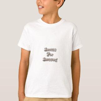 編むことのためにKnotty Tシャツ