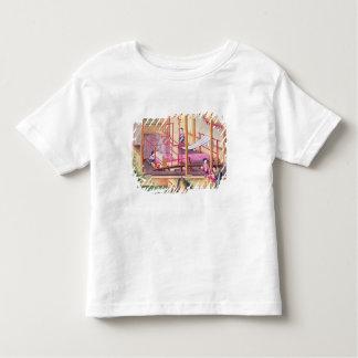 編むこと トドラーTシャツ