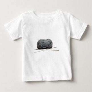 編むこと ベビーTシャツ