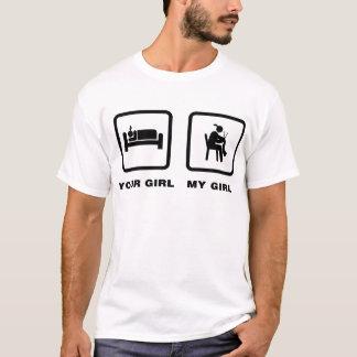 編むこと Tシャツ