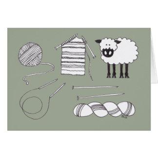 編む物 カード