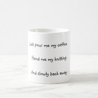 編機械 コーヒーマグカップ