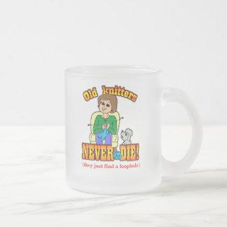 編機械 フロストグラスマグカップ
