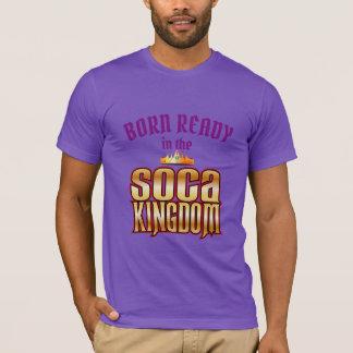 (編集可能) (で) Socaの王国を用意して下さい生まれる Tシャツ