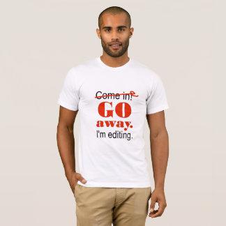 編集者大げさか過小評価される Tシャツ