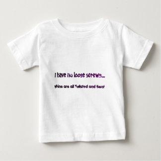 緩いねじ無し ベビーTシャツ