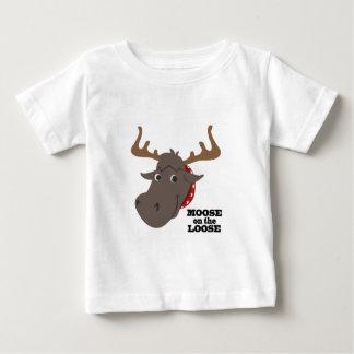 緩いのアメリカヘラジカ ベビーTシャツ
