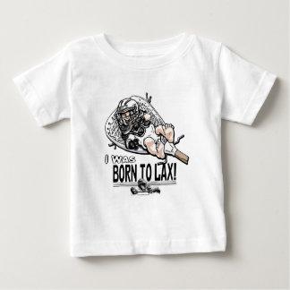 緩いラクロスのギアに生まれて下さい ベビーTシャツ
