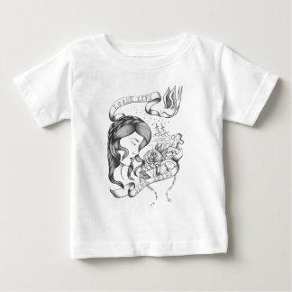 緩い唇 ベビーTシャツ