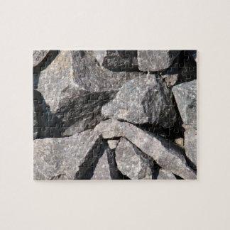 緩い花こう岩の石 ジグソーパズル