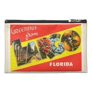 緩やかにフロリダFLの古いヴィンテージ旅行記念品 トラベルアクセサリーバッグ