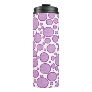 緩和される紫色の泡 タンブラー