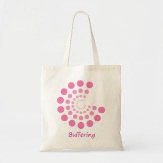 緩衝剤処理のバッグ トートバッグ