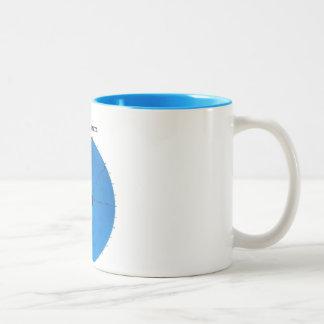 緯度 ツートーンマグカップ