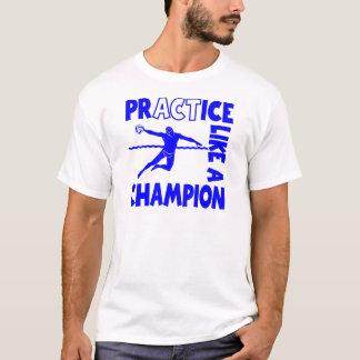 練習の水球 Tシャツ