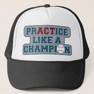 練習はチャンピオンを好みます キャップ