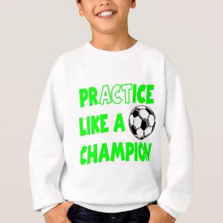 練習はチャンピオン、green2を好みます スウェットシャツ