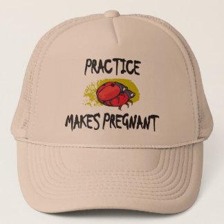 練習は妊娠した母性を作ります キャップ
