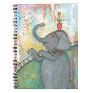 練習は完全なノートを作ります ノートブック