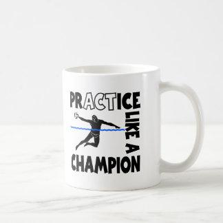 練習、メンズ水球 コーヒーマグカップ