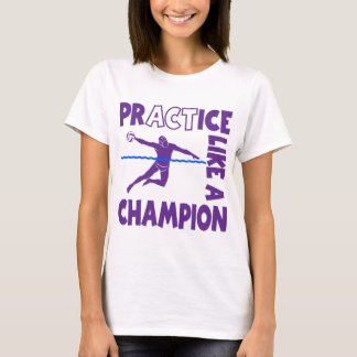 練習、メンズ水球 Tシャツ