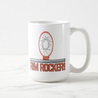 縁のロッカー コーヒーマグカップ