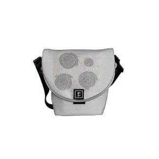 「縁結曼荼羅」が両面にある メッセンジャーバッグ