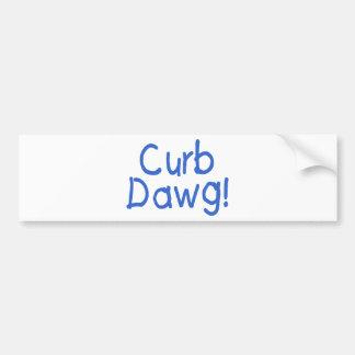 縁Dawg (3) バンパーステッカー