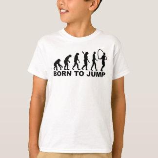 縄跳びに生まれる進化 Tシャツ