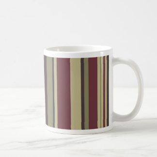 縞で飾ります: フェニックスの色彩の配合: コーヒーマグカップ