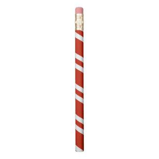 縞で飾ります 鉛筆