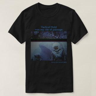 縦の把握Tシャツ Tシャツ