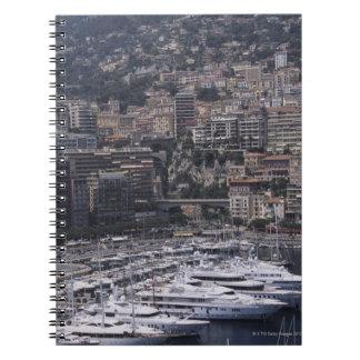 、縦の眺め、モンテカルロ、フランス語隠して下さい ノートブック