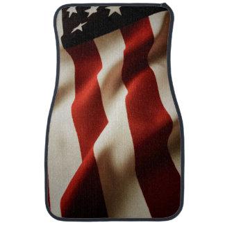 縦の米国旗 カーマット